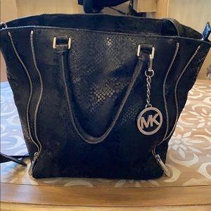 Authentic Michael Kors snake skin looking bag